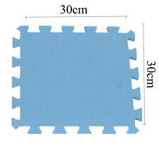 10 Large Soft Foam EVA Kids Floor Mat Jigsaw Tiles Interlocking Garden Play Mats