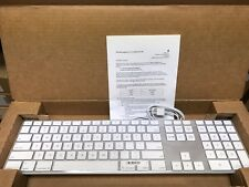 Brand New A1243 Apple Wired USB Keyboard with Numeric Keypad MB110LL/B MB110LL/A