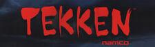 "Tekken Arcade Marquee 26"" x 8"""