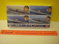 "2014 HASEGAWA WW II GERMAN SUBMARINE TYPE VHC / IXC ""U-BOAT ACES"" LTD. EDITION"