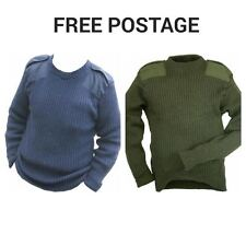 GENUINE BRITISH ARMY RAF AND COMMANDO JUMPER- GRADE 1 - USED- FREE POSTAGE