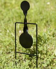 Single-Spin Swinging 22 Caliber Rimfire Steel Plinking Target