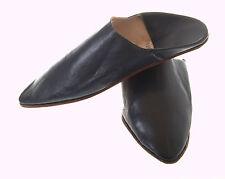 Markenlose Herren-Pantoffeln aus Echtleder