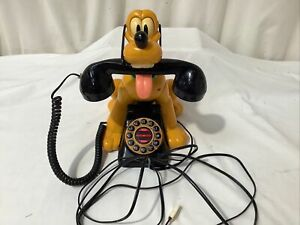 Disney MYBELLE 805 Pluto Telephone wagging tail Novelty