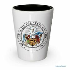 The state seal of Arkansas Shot glass - Gifts for Arkansas People