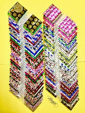 3 Mil 1515 Mini Zip Lock Design Bags 50 D Pre Mixed 100pcs Metallic Print 15