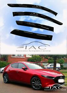 For Mazda 3 Hatchback 2019-2020  Window Visor Vent Shade Guard Door Visor