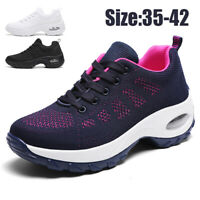 Women's Jogging Air Cushion Athletic Sneakers Casual Sports Running Shoes Tennis