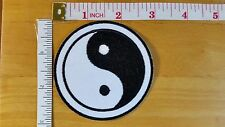 YIN YANG TAO DAO SYMBOL CHINESE Embroidered Iron on Patch applique iron on patch