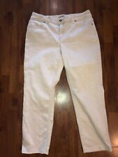 Womens CHICO'S Beige Denim Pants Size 1.5