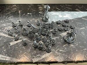 Warhammer 40k necron army, Indomitus box half, assembled