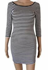 Atmosphere 3/4 Sleeve Casual Striped Dresses for Women