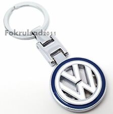 VW Volkswagen solid metal key ring keyring fob chain, golf passat tiguan