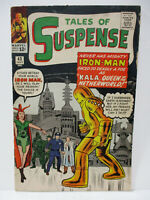 1963 Marvel- Tales of Suspense #43 featuring Iron Man Gold Armor
