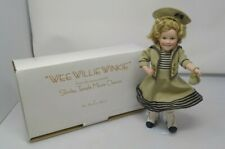 """New listing Shirley Temple """"Wee Willie Winkie"""" Porcelain Danbury Mint Doll Movie Classics"""