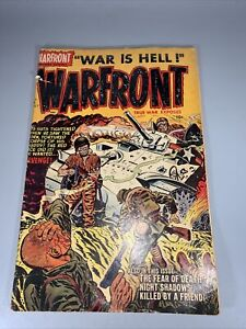 Warfront Volume 1 # 6 1952- Powell art VG/Fine Condition
