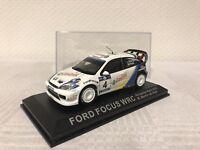 Ford Focus WRC 1:43 Rallye Geschenk Modellauto Modelcar Scale Model Spielzeug