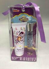 Disney Sofia The First Shower Gel .85 oz + Roll On Perfume .29 oz (BNIB)