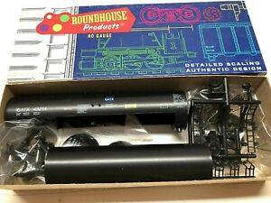 ROUNDHOUSE HO SCALE 50' TANK CAR KIT GATX CAR #43214 MINT NEW IN BOX