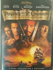 Pirates Of The Caribbean Disney 2 Disc Set Collector's Edition DVD ~FREE SHIP~