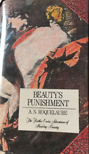 Beauty's Punishment by A.N. Roquelaure (Anne Rice) 1st Edition RARE signed copy