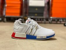 Adidas Originals NMD R1 Mens Shoes Seoul White Red Blue (FY1163) NEW Multi Size