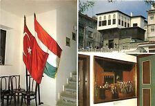 B75497 turk ve magyar bayraklan evin genel kabi;lu   turkey