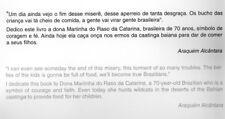Brasileiros/Brazilians O Olhar Andarilho De Araquem Alcantara workers futbol