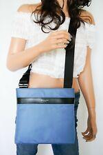 Nwt Michael Kors Kent Medium Nylon Crossbody Bag Federal Blue