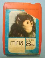 Stereo 8 Cartridge Musicassetta MINA Mina ITALY 1971 pdu no lp cd mc dvd vhs 45