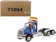 INTERNATIONAL HX520 DAY CAB TANDEM TRACTOR BLUE 1/50 BY DIECAST MASTERS 71004