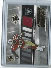 2001 Pacific Private Stock Jerry Rice Game Used Jersey Relic #113 (49er's) HOFer