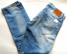 Faded Mid Rise Classic Fit, Straight Jeans for Men