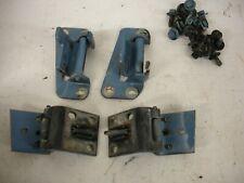 73-87 CHEVY GMC DOOR HINGES REAR  SET  81-91 CREWCAB SUBURBAN   #3 rear