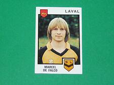 N°74 MARCEL DE FALCO STADE LAVALLOIS LAVAL PANINI FOOTBALL 85 1984-1985