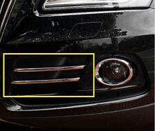 Chrome bumper Fog Light lamp cover grille Trims For AUDI Q5 2013 2014 2015 2016