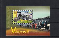 Tristan da Cunha 2013 MNH Volcano Pt III 1v M/S Volcanoes Resettlement