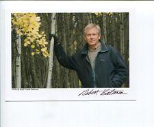 Robert Bateman Canadian Artist Painter Signed Autograph Photo