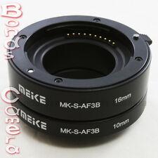 Meike Auto Focus Macro Extension Tube 10mm 16mm for Sony E mount NEX-5 6 7 5R 3N