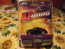 Muscle Machines D-Rods D Rods Black 40 1940 Custom Ford Hotrod Die Cast Car