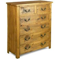 any size made SOLID WOOD CHEST OF DRAWERS SIDEBOARD RUSTIC PLANK PINE FURNITURE