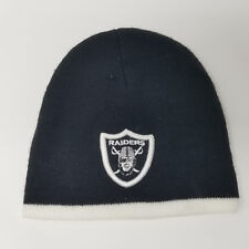 Las Vegas Oakland Raiders NFL Embroidered Patch One Size Stretch Beanie Knit Hat