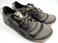 Cushe Footwear  Men Shoes Size 7 EU 40 Boutique Sneak Gray Canvas Lace EUC