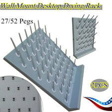 52 Pegs / 27 Pegs Lab Supply Wall Desk Drying Rack for Education&Lab Use Support