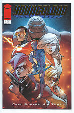 IMAGE (2017) YOUNGBLOOD # 1 GOLD FOIL RETAILER APPRECIATION VARIANT NM/MINT
