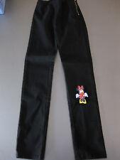 Kinder Hose elastisch Schwarz Gr. 128 H&M seit. Reißverschluss, wunderschön
