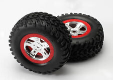 TRAXXAS 5973A Gomme + Cerchi Beadlock SLAYER/TIRES E WHEELS ASSEMBLED TRAXXAS