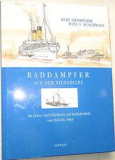 Barco de vapor en el Niederelbe 1816 hasta 1964 Convent Grobecker Bushman å √
