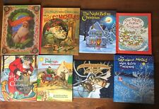 Lot 8 Children's CHRISTMAS Picture Books All THE NIGHT BEFORE CHRISTMAS Theme