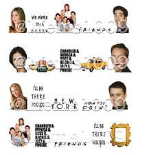 Friends Nail Art (water decals) Friends TV Show Nail Art Decals